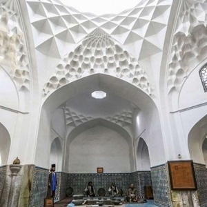 Ganjali Khan Bath Showroom in Kerman