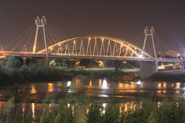 Ghadir Bridge in Ahvaz, Iran