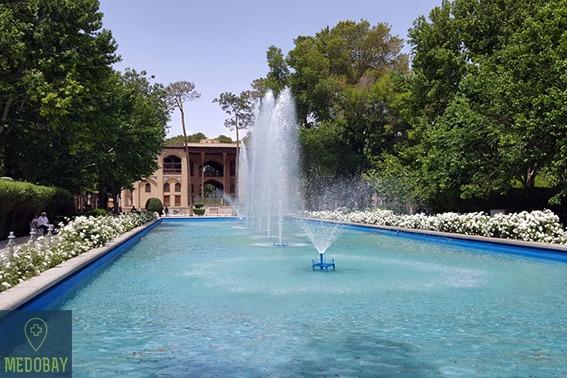 ثمانية قصر السماوات - اصفهان