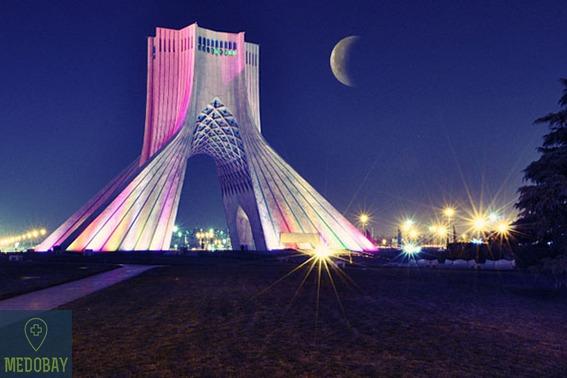 طهران للسياحة الطبية
