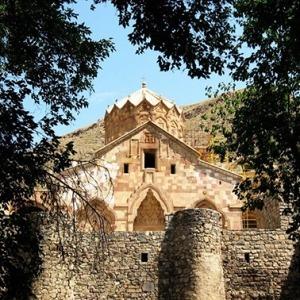 حديقة قصر جوج - بازارجان غرب أذربيجان