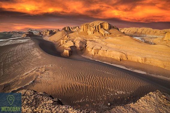 صحراء Lut في كرمان