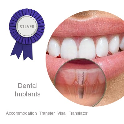 Dental Implants Silver