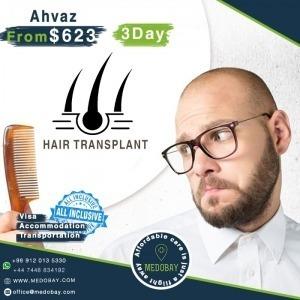 Hair Transplant Ahvaz Package