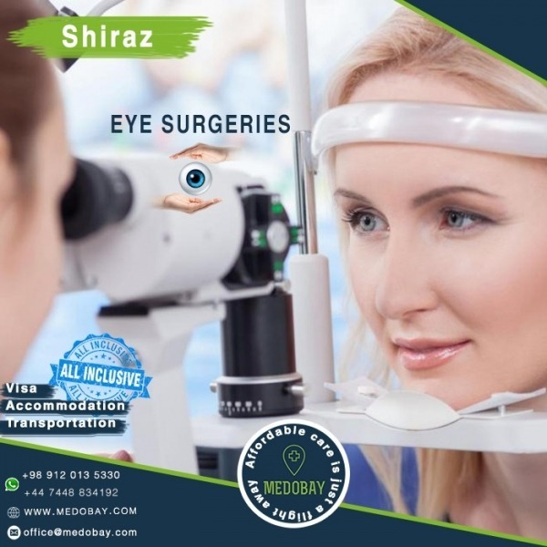 Eye surgery Shiraz Package