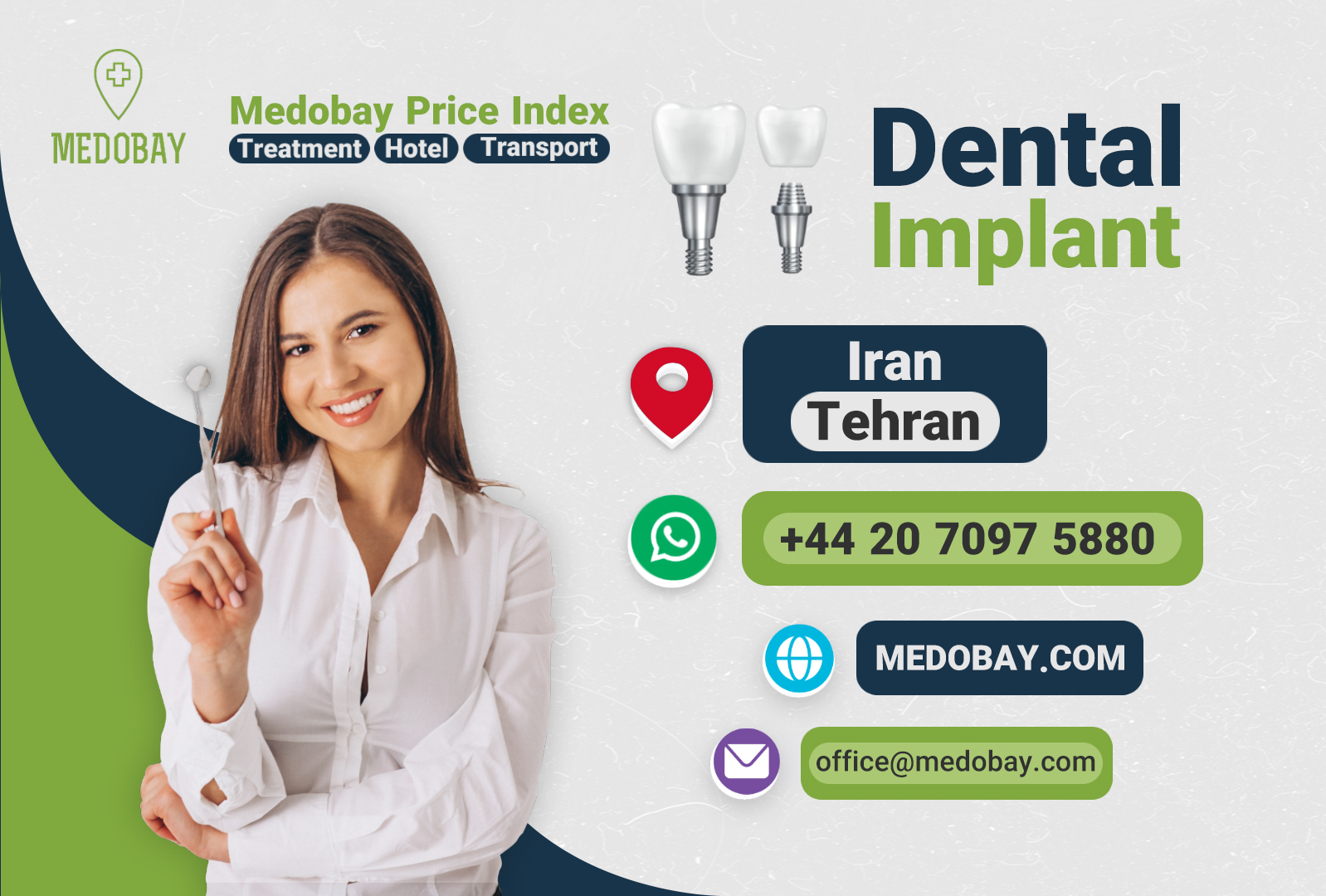 dental implant tehran