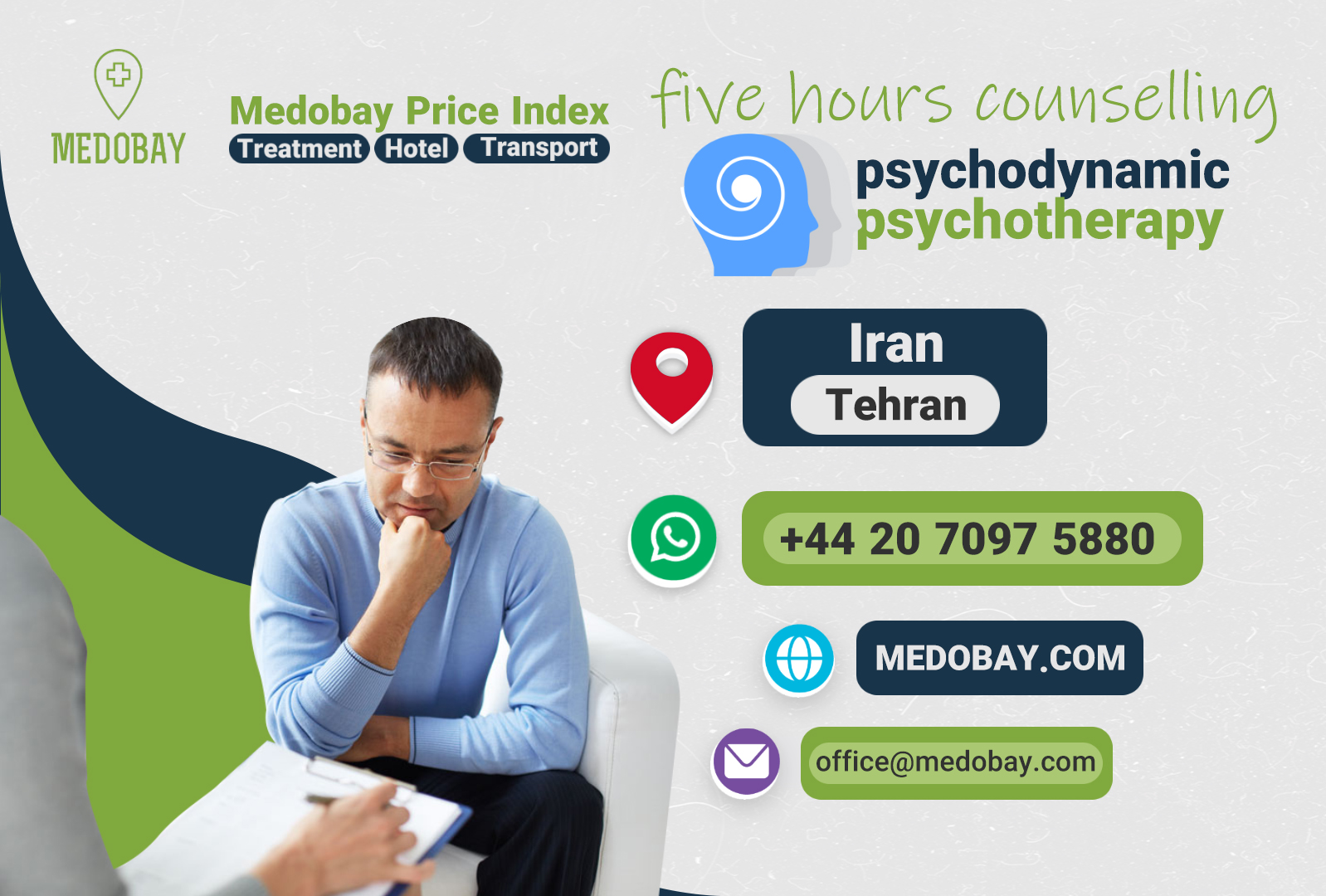 five hours counselling  - tehran - iran