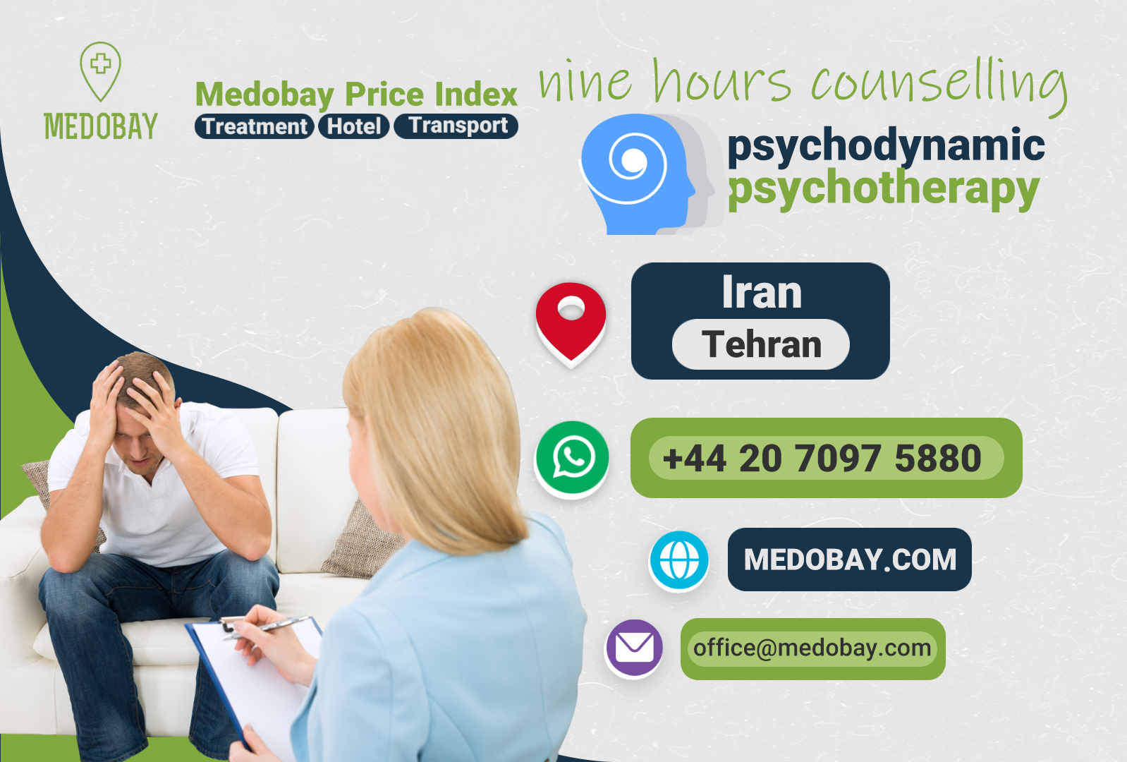 nine hours counselling  - tehran - iran