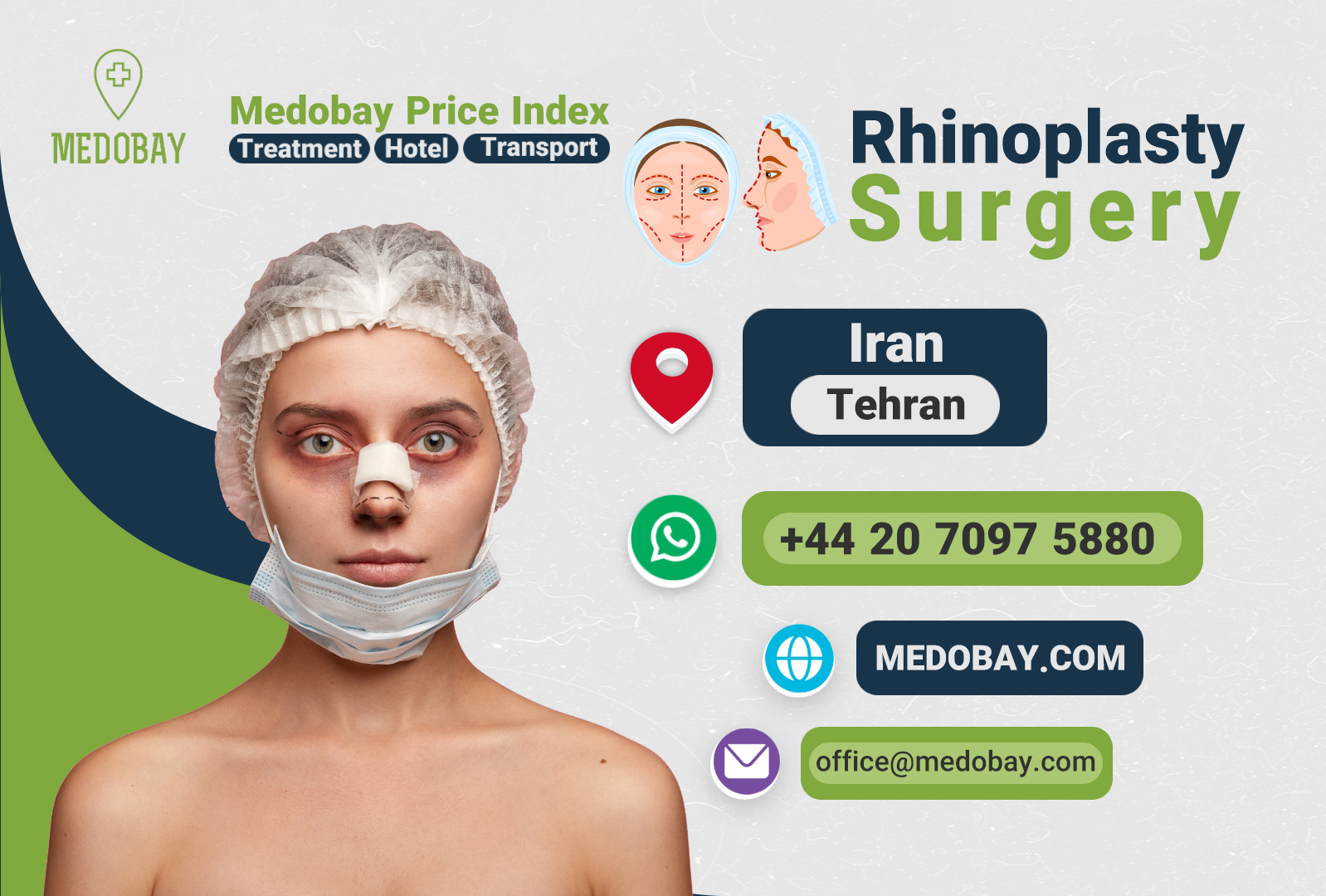 Rhinoplasty Surgery Tehran